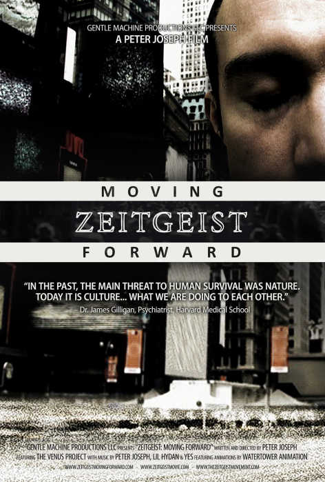 Zeitgeist Moving Forward cover poster