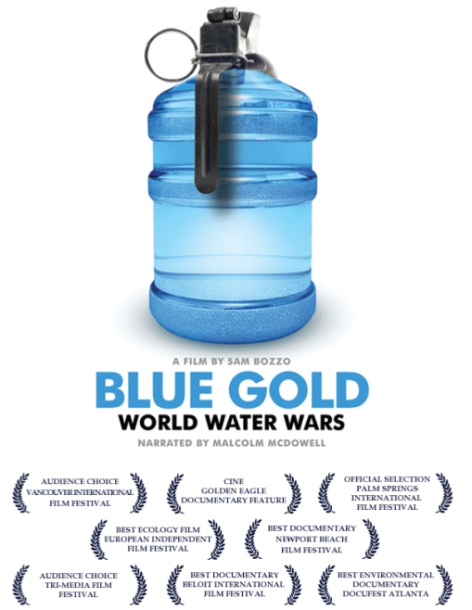 Blue Gold World Water Wars Cover Poster