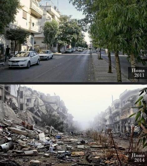 Homs 2011, Homs 2014