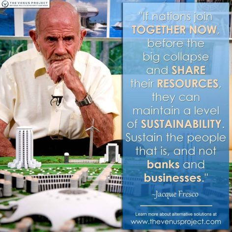 Jacque Fresco If Nations Join Together