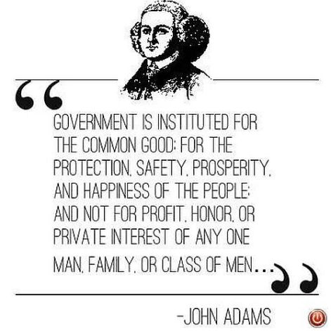 John Adams Government is instituted