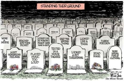 Standing Their Ground Grave Stones