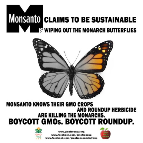 Monsanto claims to be sustainable