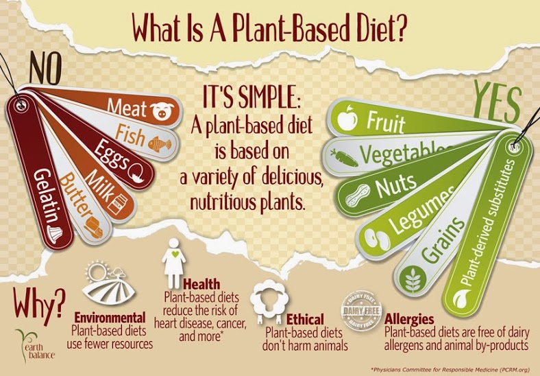 Plant-Based vs Whole Food Plant-Based. A plant-based or vegan diet could technically be made up of processed food, sugars, refined grains and unhealthy fats, that's where whole food plant-based comes in. A whole food plant-based aims to minimize or eliminate processed foods and stick to foods as close to their natural state as possible.