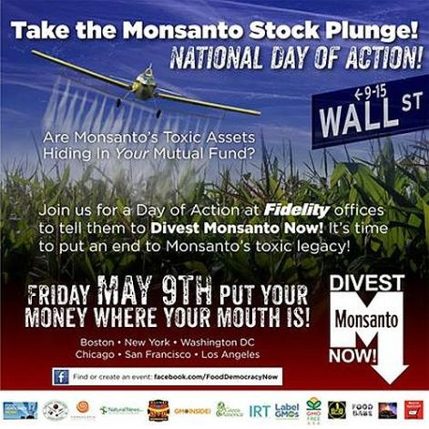 Take The Monsanto Stock Plunge