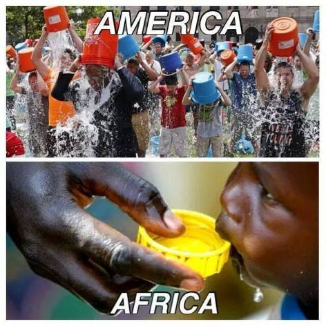 America ALS Africa Water Ice Bucket Challenge